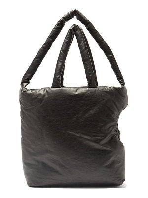 Kassl Editions oil padded coated-canvas dog carrier bag