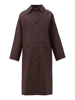 Kassl Editions original below rubber waterproof overcoat