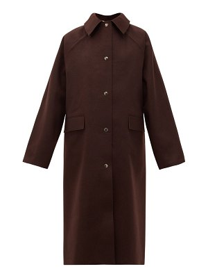 Kassl Editions original double-faced wool-blend coat