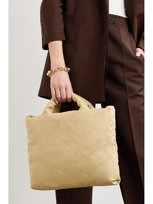 Kassl Editions padded cotton-blend canvas tote