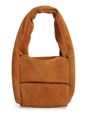 Kassl small monk suede bag
