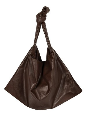 Kassl small square oiled canvas bag