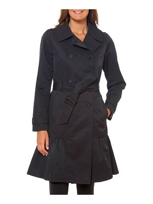 Kate Spade New York belted prairie style midi trench coat