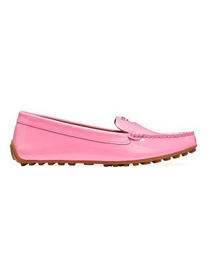 Kate Spade New York deck patent leather loafers
