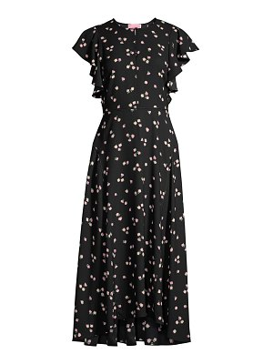 Kate Spade New York ditsy begonia midi dress