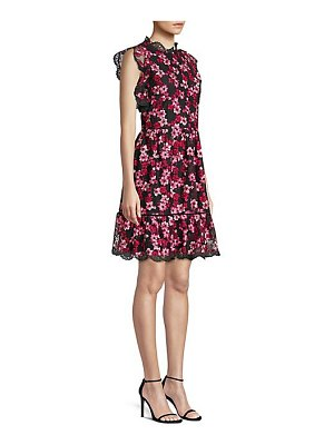 Kate Spade New York embroidered floral tulle dress