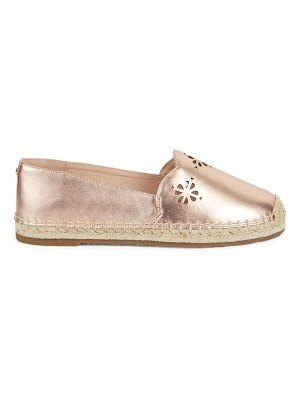 Kate Spade New York Grecian Leather Slip-On Espadrilles