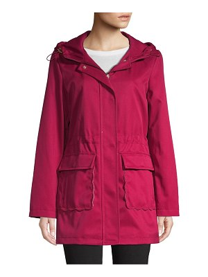 Kate Spade New York Hooded Trench Coat