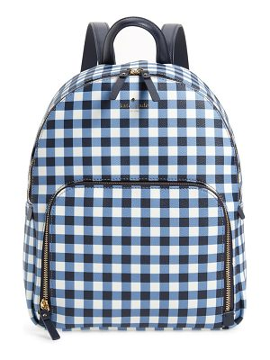Kate Spade New York hyde lane hartley gingham backpack