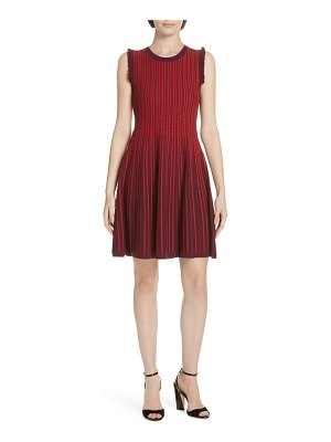 Kate Spade New York knit fit & flare dress