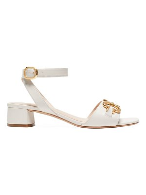 Kate Spade New York lagoon heart chain leather sandals
