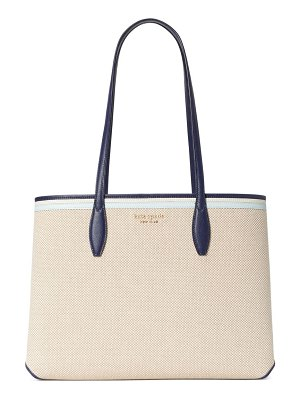 Kate Spade New York large all day canvas tote