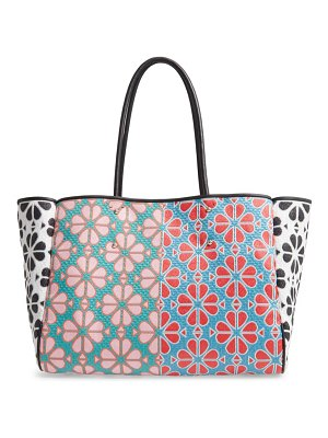 Kate Spade New York large everything spade floral tote