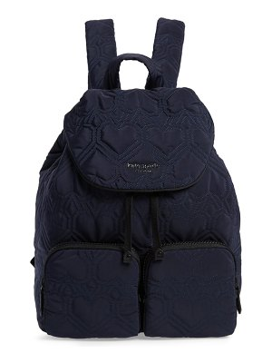 Kate Spade New York large jayne quilted nylon backpack