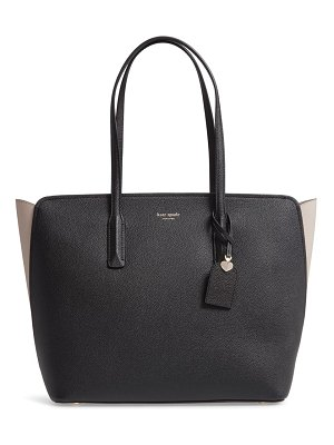 Kate Spade New York large margaux leather tote