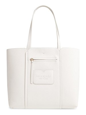 Kate Spade New York large shadow leather tote