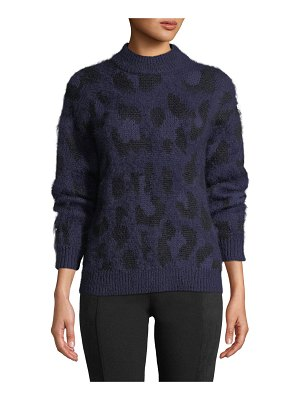Kate Spade New York leopard pullover sweater
