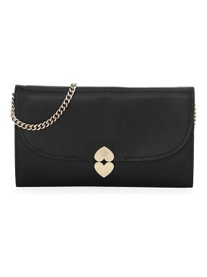 Kate Spade New York lula leather clutch