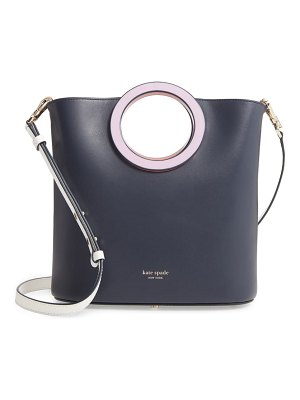 Kate Spade New York medium betty leather bucket bag