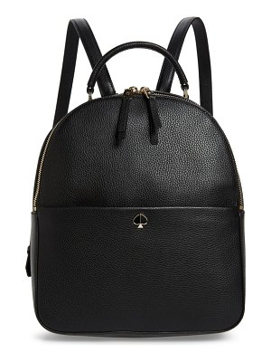 Kate Spade New York medium polly leather backpack