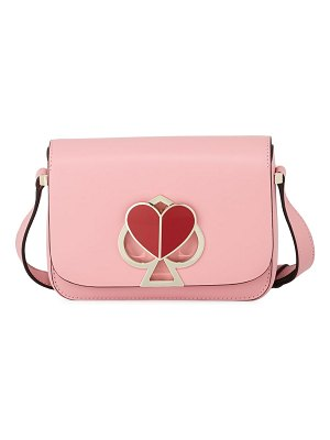 Kate Spade New York nicola twist-lock small flap shoulder bag
