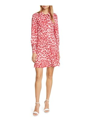 Kate Spade New York panthera long sleeve shirtdress