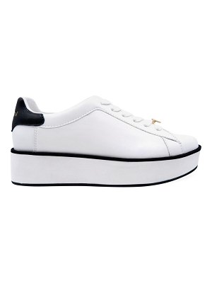 Kate Spade New York parlor leather platform sneakers