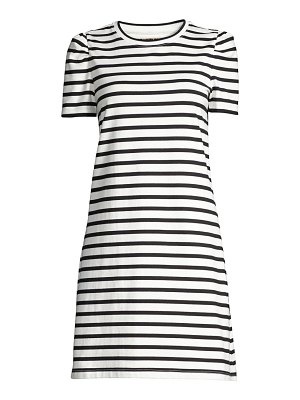 Kate Spade New York puff-sleeve striped t-shirt dress