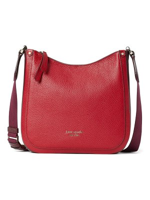 Kate Spade New York roulette medium leather messenger bag