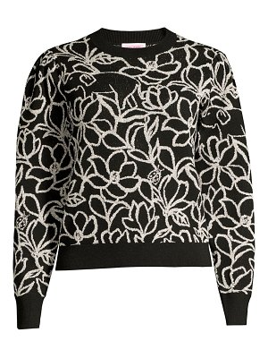Kate Spade New York scribble flora sweater