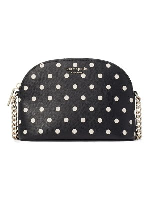 Kate Spade New York small spencer polka dot crossbody bag
