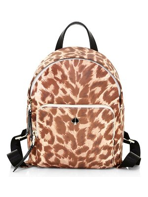 Kate Spade New York small taylor leopard-print backpack
