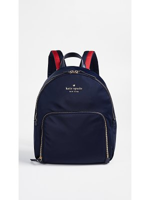Kate Spade New York watson lane hartley backpack with varsity stripe