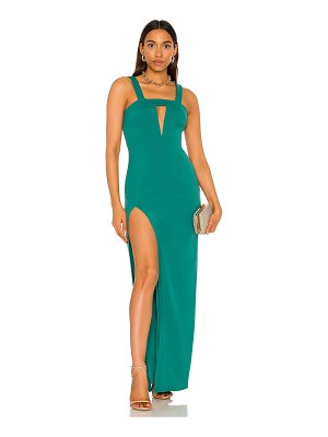 Katie May take the plunge gown