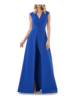 Kay Unger delaney one-shoulder maxi romper