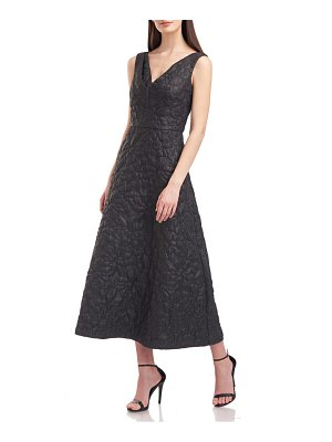 Kay Unger sloane quilted cocktail dress