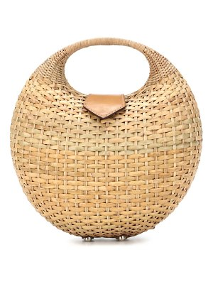 Kayu elena wicker basket bag