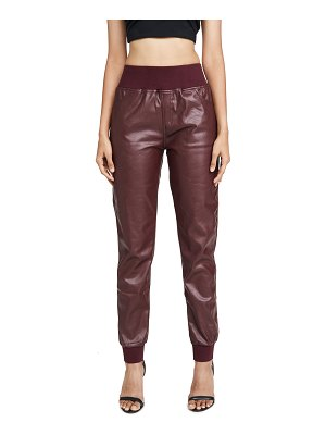KENDALL + KYLIE cobain vegan leather pants