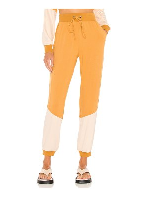 KENDALL + KYLIE colorblock jogger