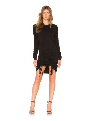 KENDALL + KYLIE Crew Neck Ruched Dress