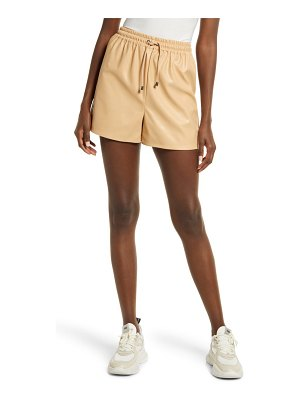 KENDALL + KYLIE faux leather shorts