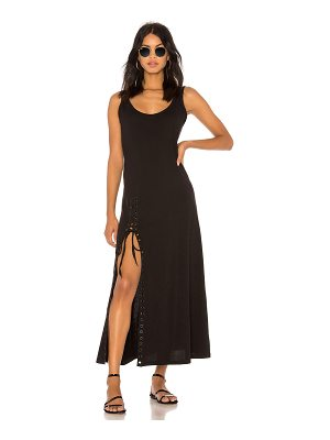 KENDALL + KYLIE Lace Up Tank Dress