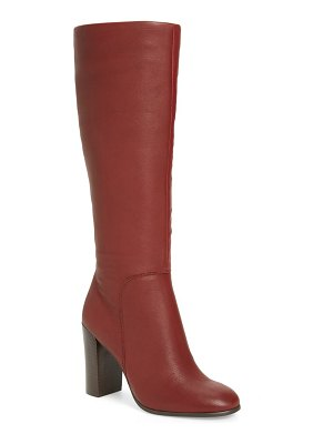 Kenneth Cole justin water resistant knee high boot
