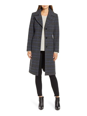 Kenneth Cole plaid coat