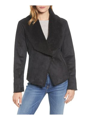 Kenneth Cole short faux shearling jacket