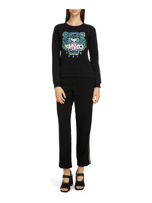 Kenzo classic tiger embroidered slim sweatshirt