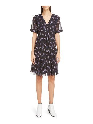 Kenzo floral pleated dress