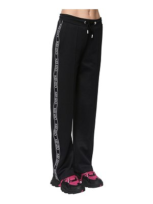 Kenzo Logo side band tech track pants