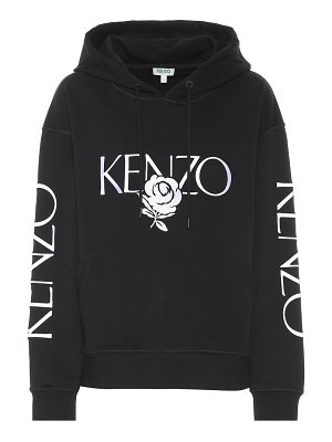Kenzo printed cotton jersey hoodie