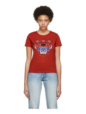 Kenzo red limited edition tiger t-shirt